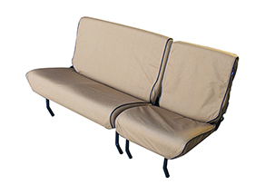 Canvas protective seat covers