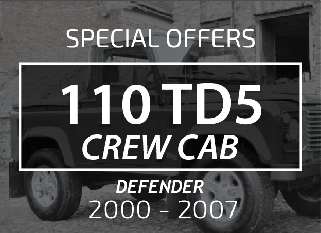 110 Crew Cab TD5 Post 2000 Onwards