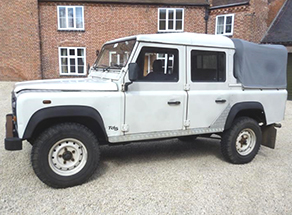 Defender 110 Crew Cab TD5, 2000 onwards
