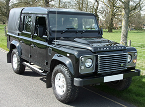 Defender 110 Puma Crew Cab , 2007 onwards