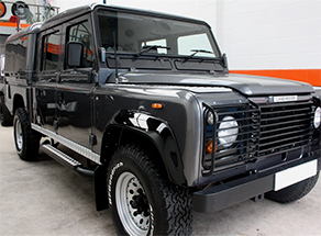Defender 127 & 130 - High Capacity Crew Cab TD5  2000 onwards