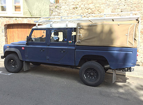 Defender 127 & 130 Puma - High Capacity Crew Cab  2007 onwards