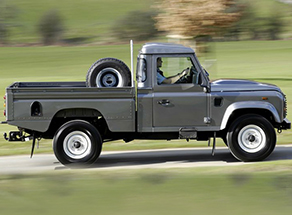 Defender 110 Puma - High Capacity  2007 onwards