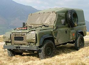 Defender 90 Military