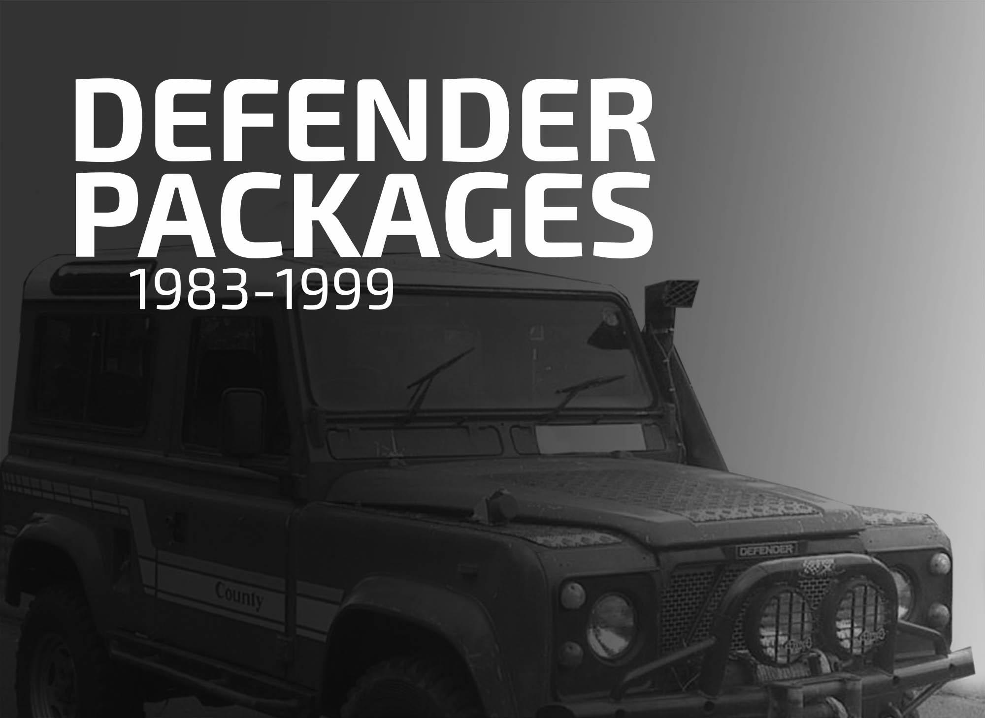 Defender Packages