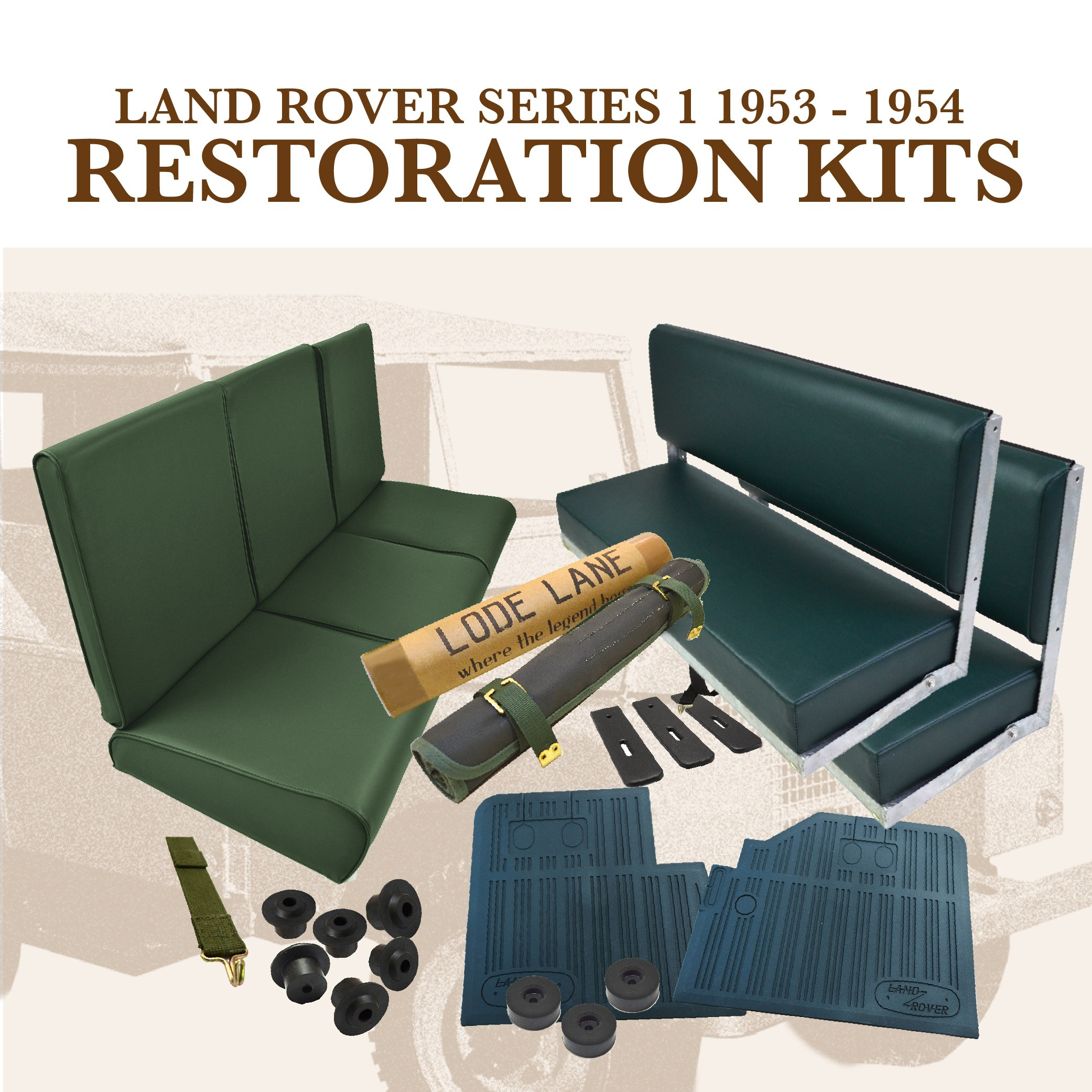 Interior restoration kits