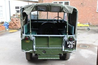 "80"" Full Hood (rigid perspex rear windows)"