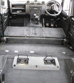 "110"" Premium Carpet 2nd Row & Rear Body (cut away arches) 7 Seat"