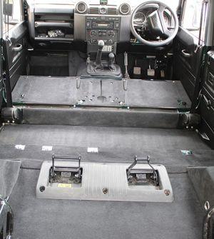"110"" Premium Carpet 2nd Row & Rear Body (cut away arches) 7 Seat"