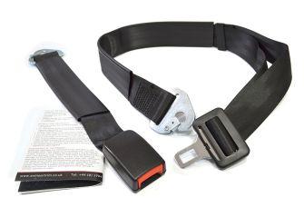 Lap Belt Static 410mm Webbing Buckle