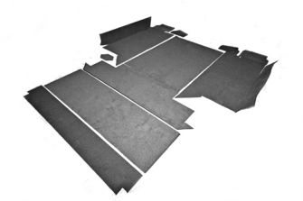"110"" Premium Carpet 2nd Row and Rear Body (square)"