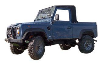 "90""/110"" Truck Cab Hood Stayfast Black"