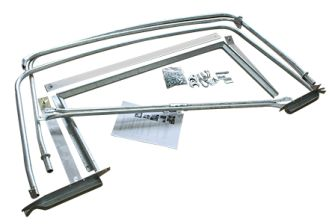 "88"" 3/4 Hood Stick Set (Cab Fit) (fit metal cab type)"