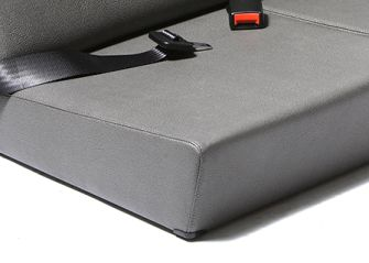 Standard Front Seats- Elephant Hide Grey
