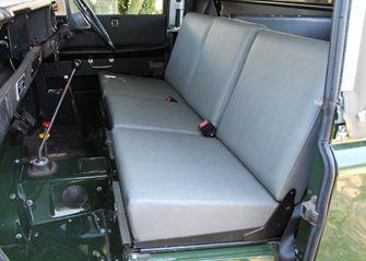Standard Front Seats- Elephant Hide Grey