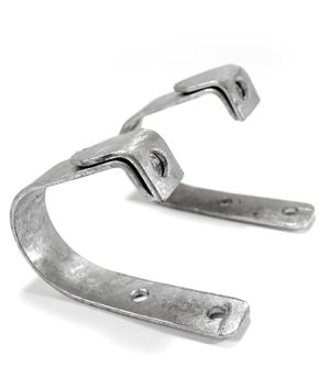"80"" Spade Back Mounting Brackets (Pair)"