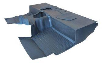 Black LT77 Moulded Matting System (2.5l)