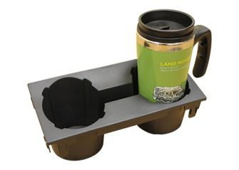 Defender Cubby Box Cup Holder