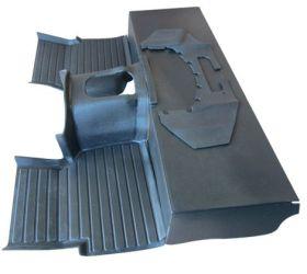 Black R380 Moulded Matting System (300/TD5)