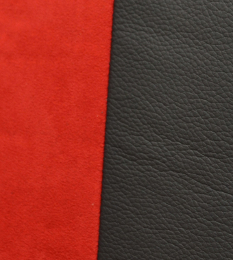 Dynamica Red & Black Leather