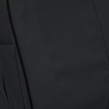 Black Cotton Canvas Seat Cover