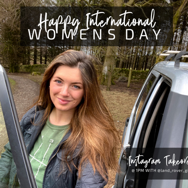 Happy International Women's Day with @land_rover_girl
