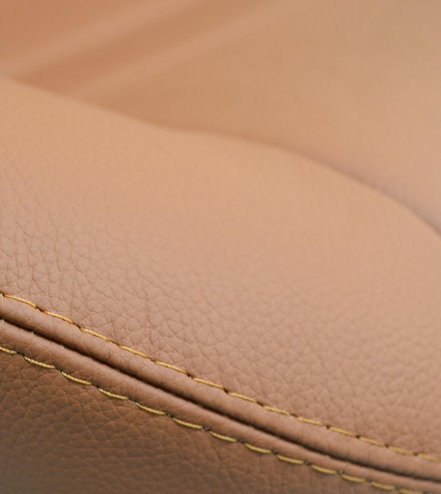 Exmoor Trim Saddle Tan Leather Bespoke Swatch