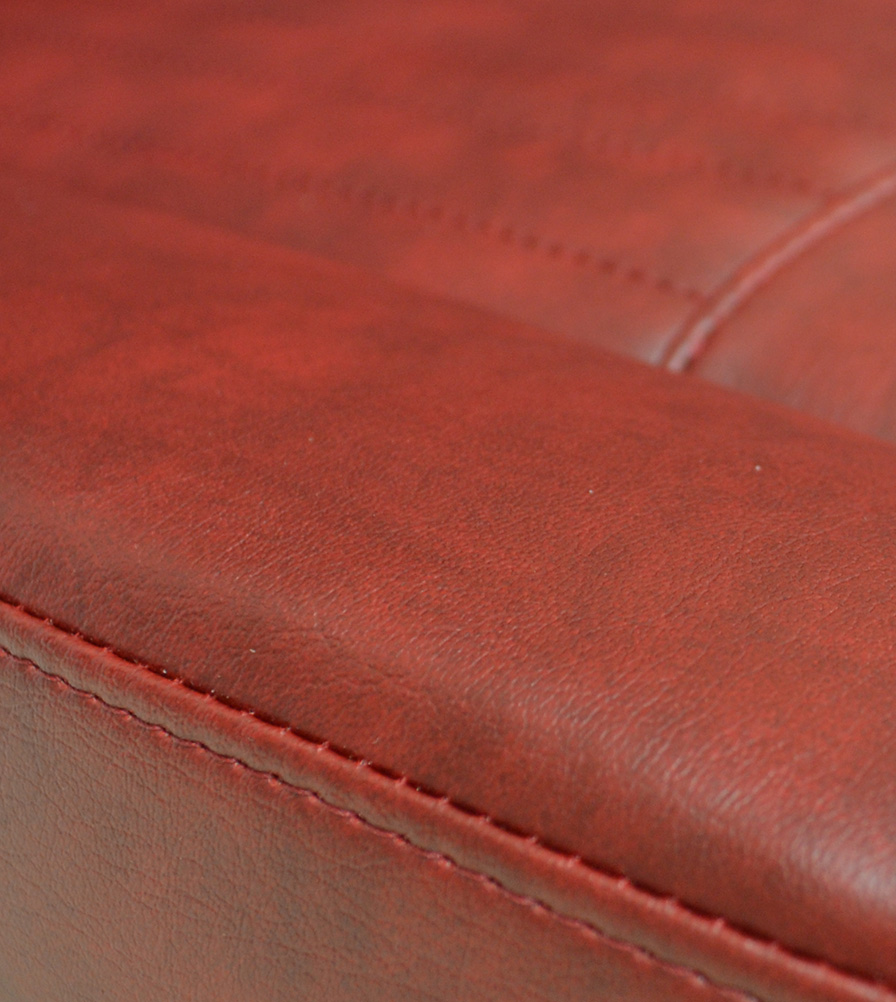 Exmoor Trim Ox Blood Vinyl Bespoke Swatch