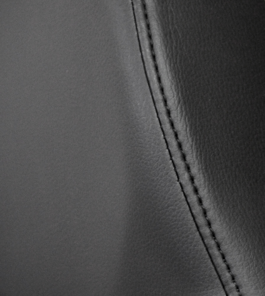 Exmoor Trim Black Vinyl Defender Swatch
