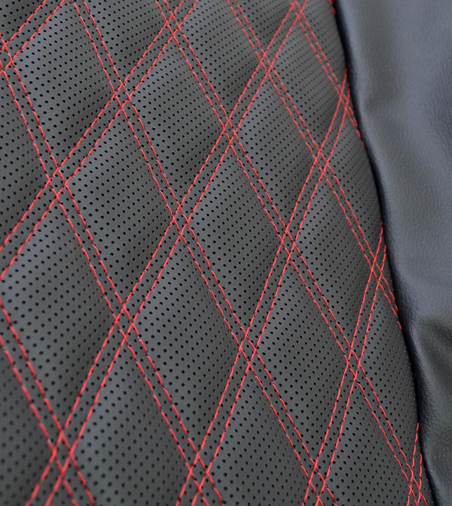 Exmoor Trim Diamond Red XS Defender Swatch