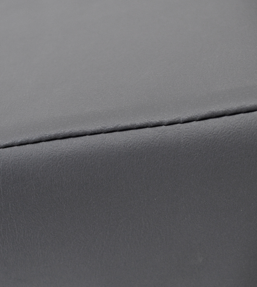 Exmoor Trim Dark Grey Vinyl Defender Swatch