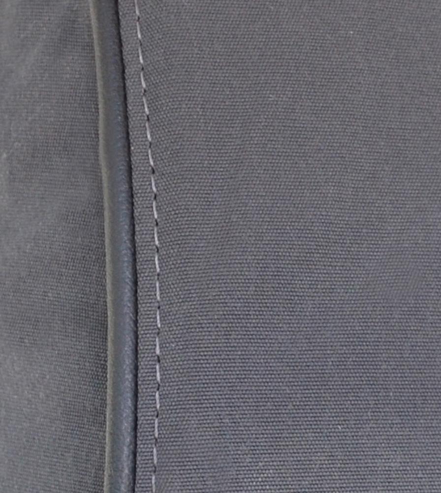 Exmoor Trim Grey Canvas Seat Cover Swatch