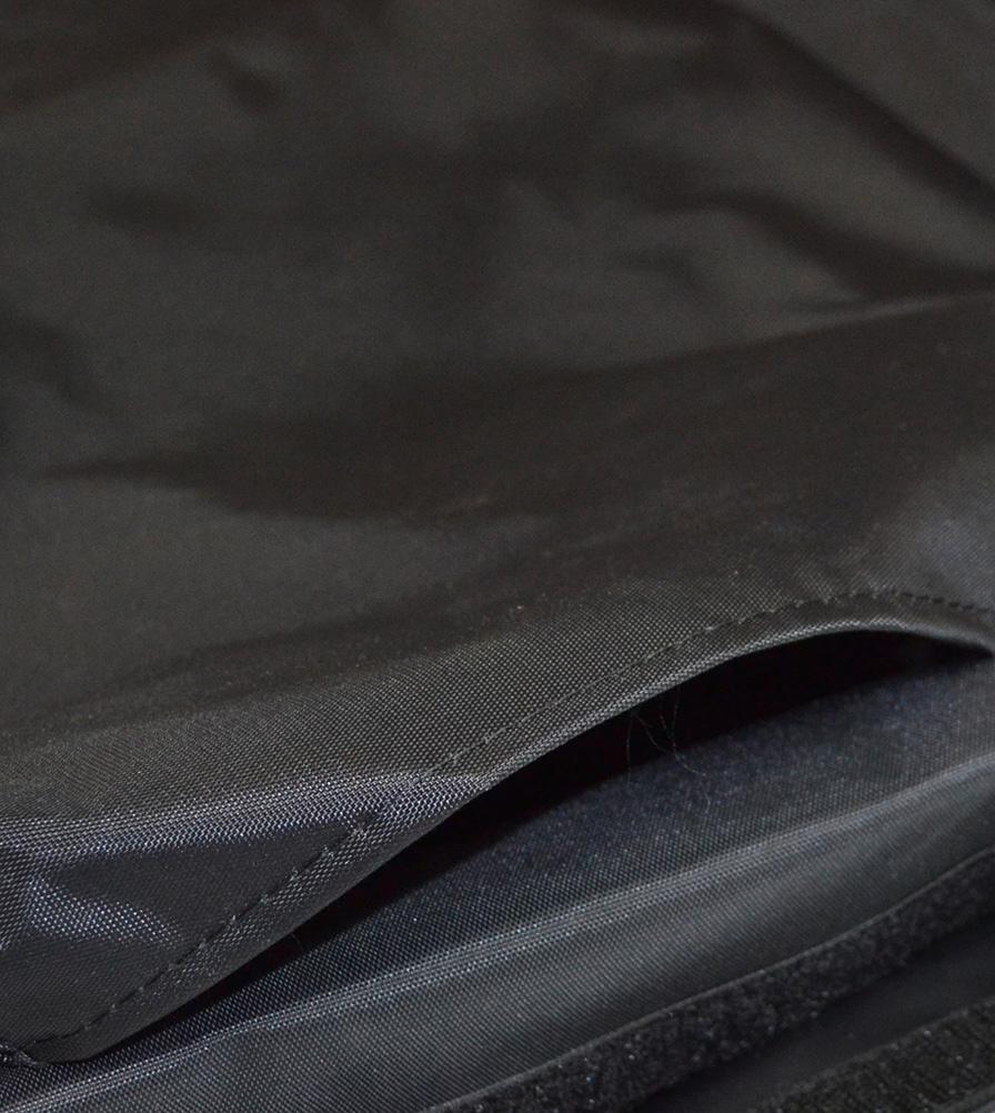 Exmoor Trim Black Nylon Seat Cover Swatch