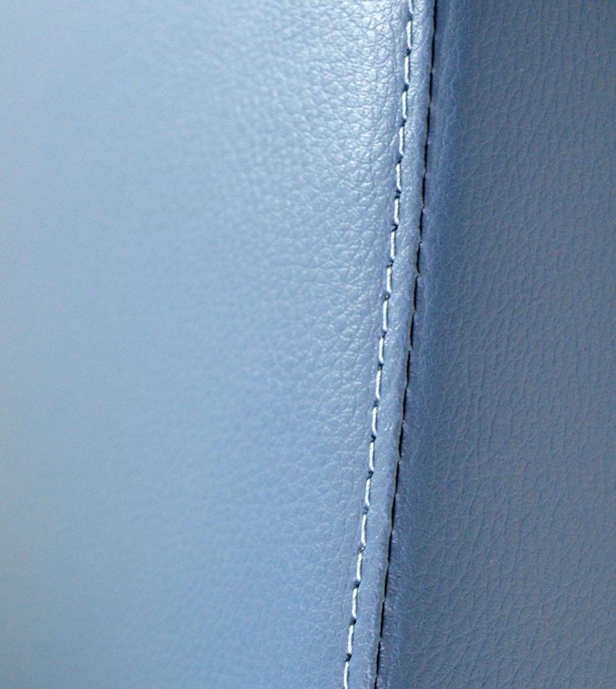 Exmoor Trim RAF Blue Vinyl Series I,II,III Swatch